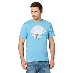 O'Neill - Light blue surfboard circle print t-shirt
