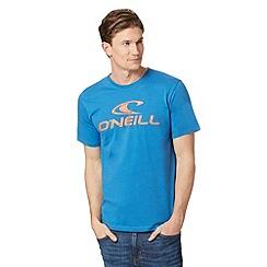O'Neill - Blue logo print t-shirt