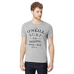 O'Neill - Grey logo short sleeve t-shirt