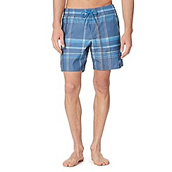O'Neill - Navy checked swim shorts