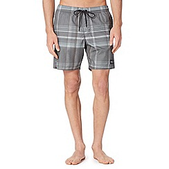 O'Neill - Dark grey checked swim shorts