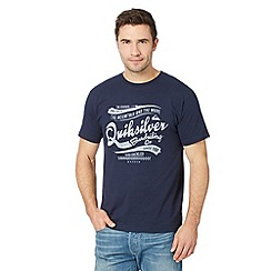 Quiksilver - Navy 'Boarding Co.' t-shirt