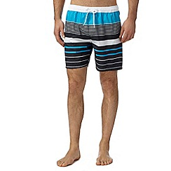 Quiksilver - Blue striped swim shorts