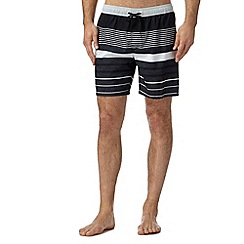 Quiksilver - Black striped swim shorts