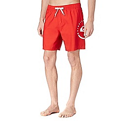 Quiksilver - Red side logo swim shorts