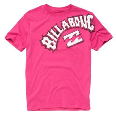 Bright pink logo t-shirt