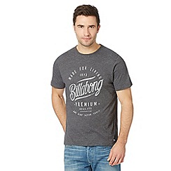 Billabong - Grey heritage logo t-shirt