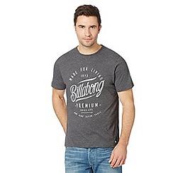 Billabong - Grey heritage logo t-shirt