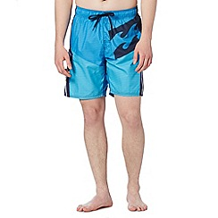Billabong - Blue side pocket swim shorts