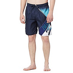 Billabong - Navy side pocket swim shorts