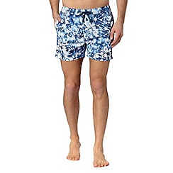 Red Herring - Blue floral swim shorts