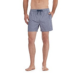 Red Herring - Blue chambray swim shorts