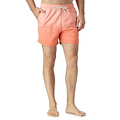 Red Herring - Peach dip dye swim shorts