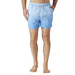 Red Herring - Blue dip dye swim shorts