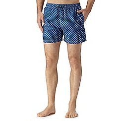 Red Herring - Blue polka dot swim shorts