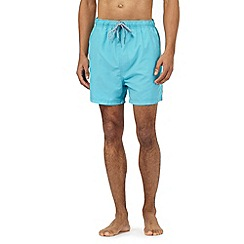 Maine New England - Big and tall turquoise swim shorts