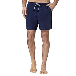 Maine New England - Navy plain swim shorts