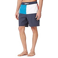 Maine New England - Navy cut and sew board swim shorts