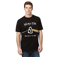 Weird Fish - Black 'Carp Side' t-shirt