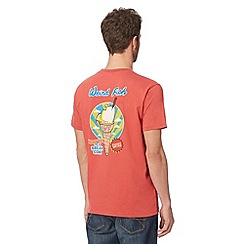 Weird Fish - Big and tall red 'Ice Bream Cone' t-shirt