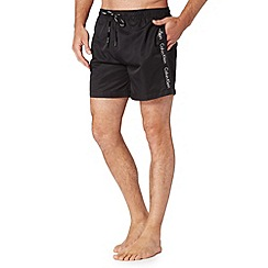 Calvin Klein - Black logo swim shorts