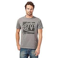 Animal - Grey patch logo t-shirt