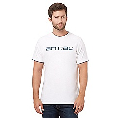 Animal - White logo t-shirt