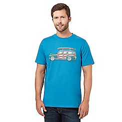 Animal - Blue car t-shirt