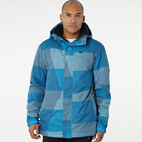 O+Neill - Blue striped tech jacket