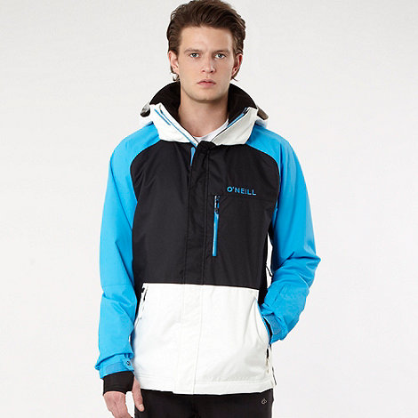 O+Neill - Black colour block tech jacket