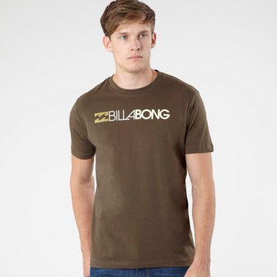 Khaki logo t-shirt