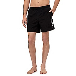 Speedo - Black logo swim shorts
