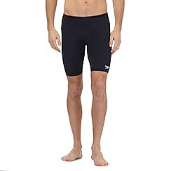 Speedo - Big and tall navy 'endurance+' jammer shorts