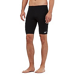 Speedo - Black jammer swim shorts