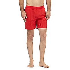 Speedo - Red chlorine resistant swim shorts