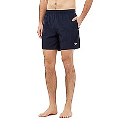 Speedo - Navy chlorine resistant swim shorts