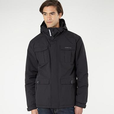 Black technical jacket