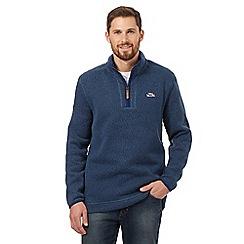 Weird Fish - Blue fleece sweater