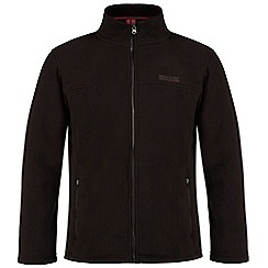 Regatta - Black zip through Sherpa fleece