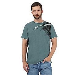 Animal - Green logo print t-shirt