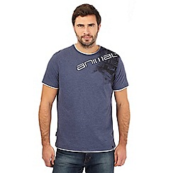 Animal - Blue logo print t-shirt