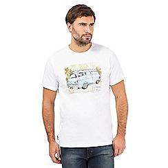 Animal - White camper van print t-shirt