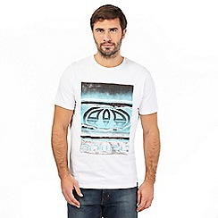 Animal - White graphic logo print t-shirt