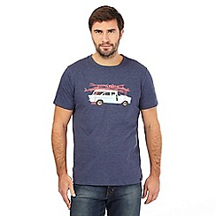 Animal - Navy car print t-shirt