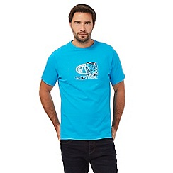 Animal - Blue graphic logo print t-shirt