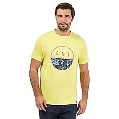 Animal - Light yellow logo print t-shirt