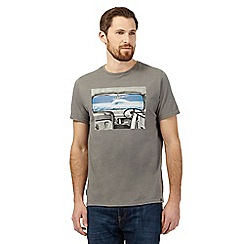 Animal - Grey camper van print t-shirt