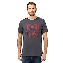 Animal - Grey 'Beach Please' t-shirt