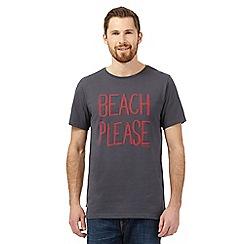 Animal - Grey 'Beach Please' t-shirt