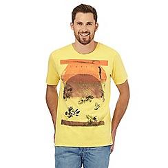 O'Neill - Yellow sunset print t-shirt